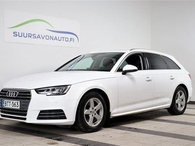käytetty Audi A4 Avant Business Sport Summer Edition 2,0 TDI 110 kW S tronic ** MATRIX / WEBASTO / PANORAMA / SUOMI