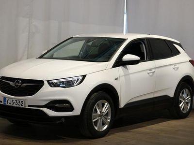 käytetty Opel Grandland X Comfort 130 Turbo AT6 **** Korko 0 % (+kulut) + 3kk eräpäivän siirto + min. 1500 EUR takuuhyvitys **
