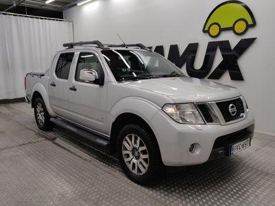 käytetty Nissan Navara Double Cab 3,0V6 dCi 231hp LE Premium, Tech, BOSE, 18'' alloys, DPF ** ALV / 5-P / HUIPPUVARUSTEET /