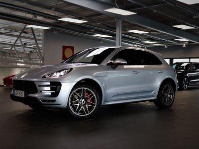 käytetty Porsche Macan Turbo LÖYTÖ! PDLS+, Ilmastoidut & Lämmitetyt Istuimet, Peruutuskamera, 18-Suuntaiset Istuimet, Navi