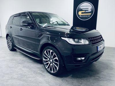 """käytetty Land Rover Range Rover Sport SDV6 HSE AUT. **PANORAMA, 22"""" ALUT, ILMA-ALUSTA, KOUKKU & KORKO 1,99%**"""