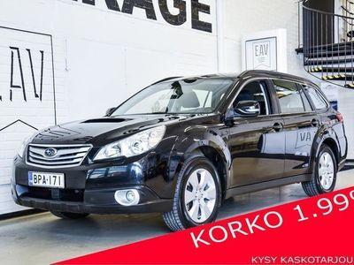 käytetty Subaru Legacy Outback 2,0 TD VA LOHKO, XENON, SUOMIAUTO, KAHDET RENKAAT JA TÄYSI HK! NELIVETOJEN KUNINGAS!