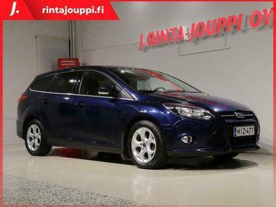 käytetty Ford Focus 1,0 EcoBoost 125 hv Start/Stop Titanium M6 Wagon *Suomi-auto / Merkkiliikkeen huoltohistoria*