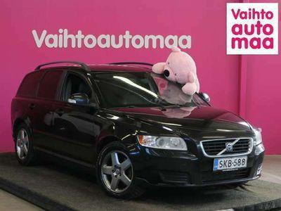 käytetty Volvo V50 2,0D Kinetic Business *Puolinahat* *0? Käsirahalla, 3kk lyhennysvapaata*