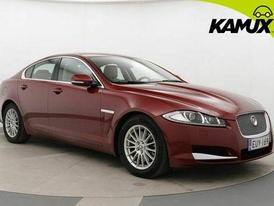 käytetty Jaguar XF 2,2 D ** Polttoainetoiminen lisälämmitin kaukosäätimellä ** **** LänsiAuto Safe -sopimus hintaan 590