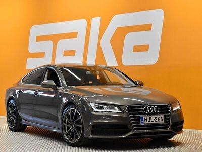 käytetty Audi A7 Business 3,0 V6 TDI 150 kW quattro S tronic S-LINE ** Suomi-auto / Webasto / Comfort-penkit muistilla / LED / Tutkat **