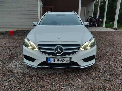 käytetty Mercedes E350 BlueTec T 4Matic A Premium Business AMG-STYLING ** Tulossa Saka Nummelaan / Huippuvarusteet / Webasto / 360-Kamera / Distronic / Comand **