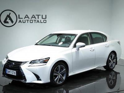 käytetty Lexus GS450H Hybrid A Executive * Webasto * Rattilämmitin * Ilmastoidut penkit * Navi *Adap.vakkari *Kaistav