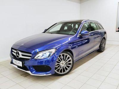 käytetty Mercedes C350e AMG, Panoramakattoluukku, Navi, Airmatic, Parktronic