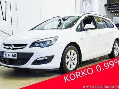 käytetty Opel Astra Sports Tourer 1,4 Turbo TUTKAT, LOHKO+SP, TÄYSI HK, JUURI HUOLLETTU, TILAVA PERHEAUTO!