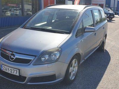käytetty Opel Zafira 1,8 Enjoy - Ilmastointi, moottorinlämmitin, vetokoukku, Suomi-auto