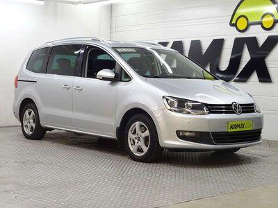 käytetty VW Sharan Comfortline 2,0 TDI 103 kW (140 hv) BlueMotion Technology DSG-automaatti / 7-Paikkainen / Vetokoukku