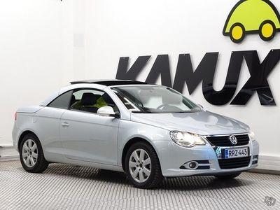käytetty VW Eos 2,0 FSI 110 kW **KYTKIN JA VAUHTIPYÖRÄ JUURI VAIHDETTU**