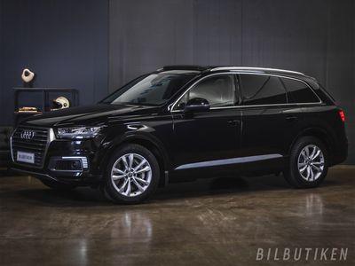 käytetty Audi Q7 Business 3,0 V6 TDI e-tron Quattro. Panorama, Matrix, Adapt.cruise, Koukku, Bose,