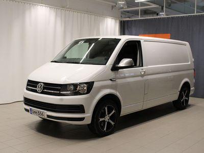 käytetty VW Transporter umpipakettiauto pitkä 2,0 TDI 110 kW *ALV* Webasto kaukosäädöllä