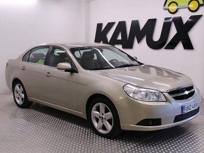 käytetty Chevrolet Epica Sedan 2.0D Automatic / 1-Omisteinen SUOMI-auto / Nahkapenkit / Vetokoukku