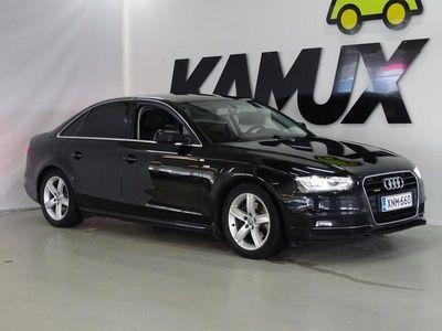 käytetty Audi A4 Sedan Land of quattro Edition 2,0 TDI 110 kW // Neliveto / S-line ulkopaketti / Sporttipenkit / Kou