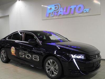 käytetty Peugeot 508 Allure BlueHDi 130 EAT8-automaatti - Etusi uuteen yli 6000? ja korko 0,99%!