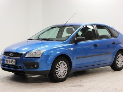 käytetty Ford Focus 1.6 Trend 5d - Siistin sininen bensa Focus! Vakionopeudensäädin ja ilmastointi