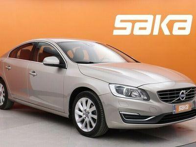 käytetty Volvo S60 T5 Business Summum aut ** Merkkihuollettu / KeyLessGo / Muistipenkki / Nahkasisusta **