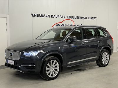 käytetty Volvo XC90 T8 Twin Engine AWD Inscription 7p * Apple Carplay / Webasto / HUD / Panorama * *1.99% KORKO, 0€ KOTIINTOIMITUS*