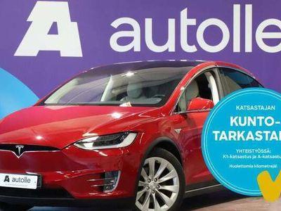 käytetty Tesla Model X KOTIINTOIMITUS 90D AP1 CPO-Takuulla Tarkastettuna, Rahoituksella, Kotiin toimitettuna