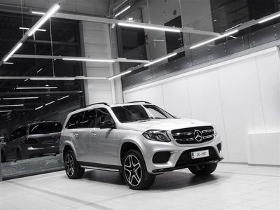 käytetty Mercedes GLS350 4Matic Designo AMG Aut + 7-Paikkainen + Nahat + Navi + LED-valot / Tulossa myyntiin!