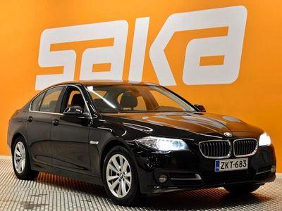 käytetty BMW 518 F10 Sedan Business Exclusive Edition ** 1-om Suomiauto / Huollettu 8/20 / Facelift / Sporttinahat /