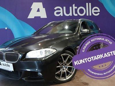 käytetty BMW 530 *KORKOKAMPANJA!* 3,0D A TwinPower Tbo M-Sport Look F11 Touring. Tarkastettuna, Rahoituksella, Kotiin