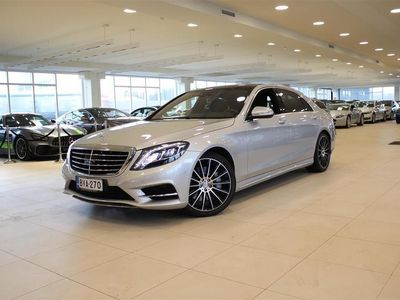 käytetty Mercedes S500 Plug-In Hybrid L AMG Line plus, Aktiivi Cruise, Burmester, Keyless, Panorama,.