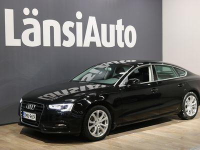 käytetty Audi A5 Sportback Business 2,0 TDI DPF 130 kW quattro S tronic // Sporttipenkit, Lohko+sisäp, Xenon Plus, P.Tutkat // **** LänsiAuto Safe -sopimus hintaan 590€. ****