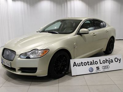 käytetty Jaguar XF 2,7D V6 Luxury Business A ** Suomi-auto, nahat, xenonit ym! **