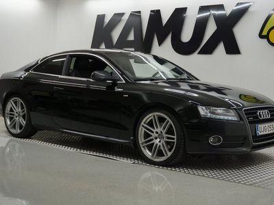 käytetty Audi A5 3,0 V6 TDI 176 kW Quattro / S-LINE / SUOMI-AUTO / SPORTTIPENKIT / JUURI HUOLLETTU /