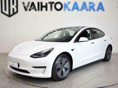 käytetty Tesla Model 3 Long Range Dual AWD Autom # Takuu, Adapt. vakkari, Adapt. ajovalot, Panorama, Spotify #