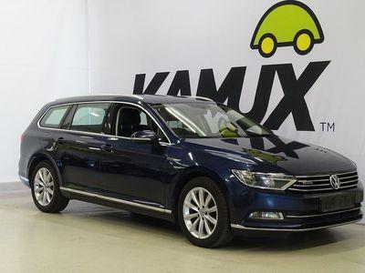 käytetty VW Passat Variant Highline 2,0 TDI 140 kW (190 hv) BlueMotion Technology 4MOTION DSG // NELIVETO / Webasto / NAVI / Peruutuskamera / Nahat / Sähköpenkit / BT-Audio //