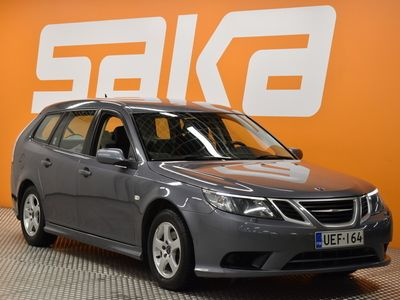 käytetty Saab 9-3 Sport Combi 1,9TiDS PF Linear Business A6 ** Suomi-auto / Cruise / Tutka takana / Xenon / Koukku **
