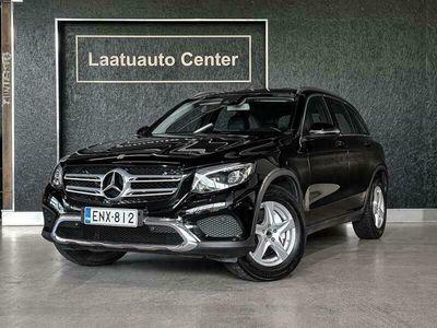 käytetty Mercedes GLC220 d 4Matic A Premium Business, Amg sisäpuoli, Nahkaverhoilu, Led ajovalot, Vetokoukku, Sähkökontti yms...