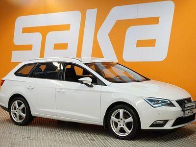 käytetty Seat Leon ST 2,0 TDI 150hv Style DSG ### NORMAL FRIDAY -hinta! ### ** Juuri huollettu / Suomi-auto / LED-ajovalot