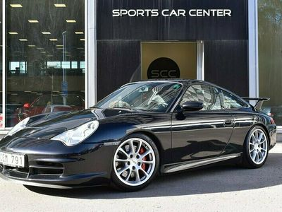 käytetty Porsche 911 GT3 911 (996.2)Clubsport & Aerokit Cup / Todella Harvinainen! Basalt Black & Erikoistäysnahka