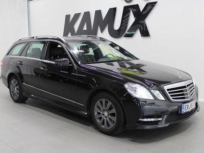 """käytetty Mercedes E300 BlueTec Hybrid T A Avantgarde""""AMG STYLING ULKOPAKETTI, ADAP.VAKKARI, NAVI, NAHAT, KAMERA YMS! TY"""