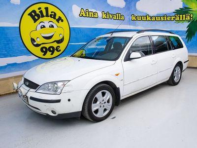 käytetty Ford Mondeo 2,5 V6 170hv Ghia Wagon - SPORTTIPENKIT, UPEA VALKOINEN VÄRI, AUTOMAATTI, V6, GHIA VARUSTEPAKETTI