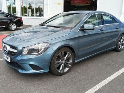 käytetty Mercedes CLA200 BE Premium Business #Nahkat #Webasto kaukokäytöllä