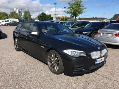 käytetty BMW M550 550 d xDrive Touring F11* Panorama, HUD, Comfort, Navi Professional, Takana näytöt yms!