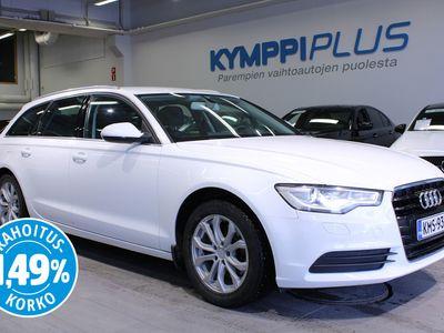 käytetty Audi A6 Avant Business Plus Edition 2,0 TDI 130 kW multitronic Start-Stop - ** RAHOITUSKORKO 1,49% ** - Comfort nahat / Webasto / 4-alue ilmastointi / Koukku / Sähköluukku / Xenon