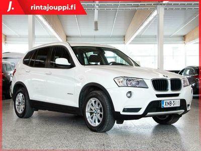käytetty BMW X3 xDrive20d TwinPower Turbo A F25 Business Automatic *** J. kotiintoimitus