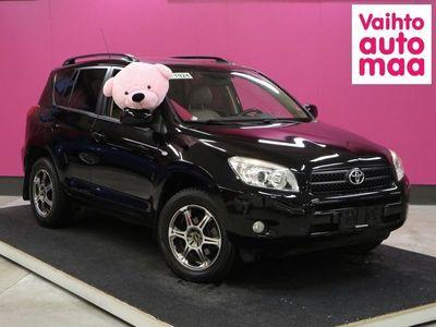 käytetty Toyota RAV4 2.0i Aut 4wd Luxury # Pikkukilsat # Sähkönahat # Tutkat # Huippuyksilö