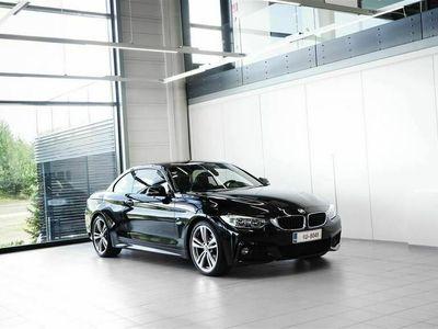 käytetty BMW 420 d F33 Cabriolet M-Sport Aut + Nahat + Navi + LED + Tutkat