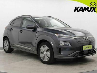 käytetty Hyundai Kona electric 64 kWh Premium / Nahkasisusta / Ilmastoidut etuistuimet / HUD / Peruutuskamera