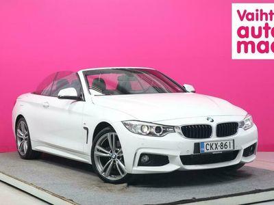 käytetty BMW 428 428 F33 Cabriolet i A xDrive M Sport #Prof.Navi #HiFi #Muistipenkki #Huippukuntoinen!