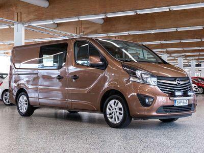 käytetty Opel Vivaro Van Sportive L2H1 1,6 CDTI Bi Turbo ecoFLEX 103kW MT6 *** J. autoturva saatavilla, J. kotiintoimitus